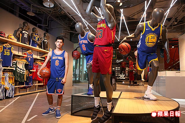 The NBA Store is a chain of officially licensed retailers which sell merchandise for the National Basketball Association (NBA). The most prominent of these stores is located in the United States on Fifth Avenue and 45th Street, Manhattan, New York.